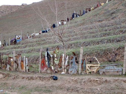 Tajik redneck fence
